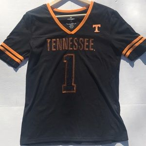 Tennessee Volunteers #1 V-neck Tee Shirt